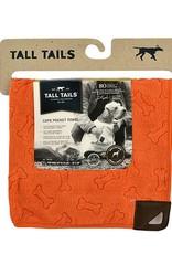 Rosewood Tall Tails Orange Pet Cape Towel