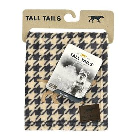 Rosewood Tall Tails Houndstooth Fleece Pet Blanket
