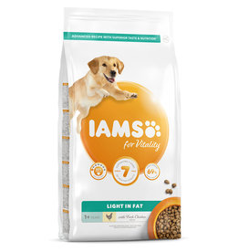 Iams Light in Fat Dog Food with Fresh Chicken