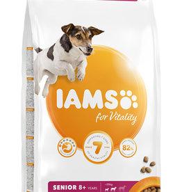 Iams Senior 8+ Small and Medium Breed Dog Dry Food with Fresh Chicken
