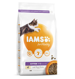 Iams Kitten Dry Food with Fresh Chicken, 2kg