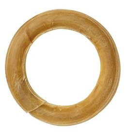 PPI Rawhide Pressed Ring Dog Chew, 6 inch/15cm