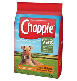 Chappie Complete Dog Food Chicken With Wholegrain Cereal