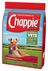 Chappie Complete Dry Dog Food, Beef with Wholegrain Cereal