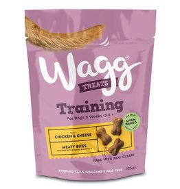 Wagg Chicken & Cheese Meaty Bites Dog Training Treats, 125g