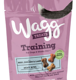 Wagg Dog Training Treats Chicken, Beef & Lamb 125g