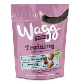 Wagg Beef, Chicken & Lamb Meaty Bites Dog Training Treats, 125g
