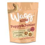 Wagg Puppy & Junior Chicken & Yoghurt Meaty Bites Treats, 120g