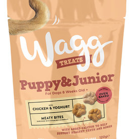 Wagg Dog Treats Puppy Treats, Chicken & Yoghurt 120g