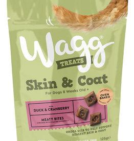 Wagg Dog Treats Skin & Coat 125g
