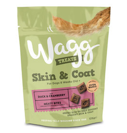 Wagg Dog Treats Skin & Coat 125g