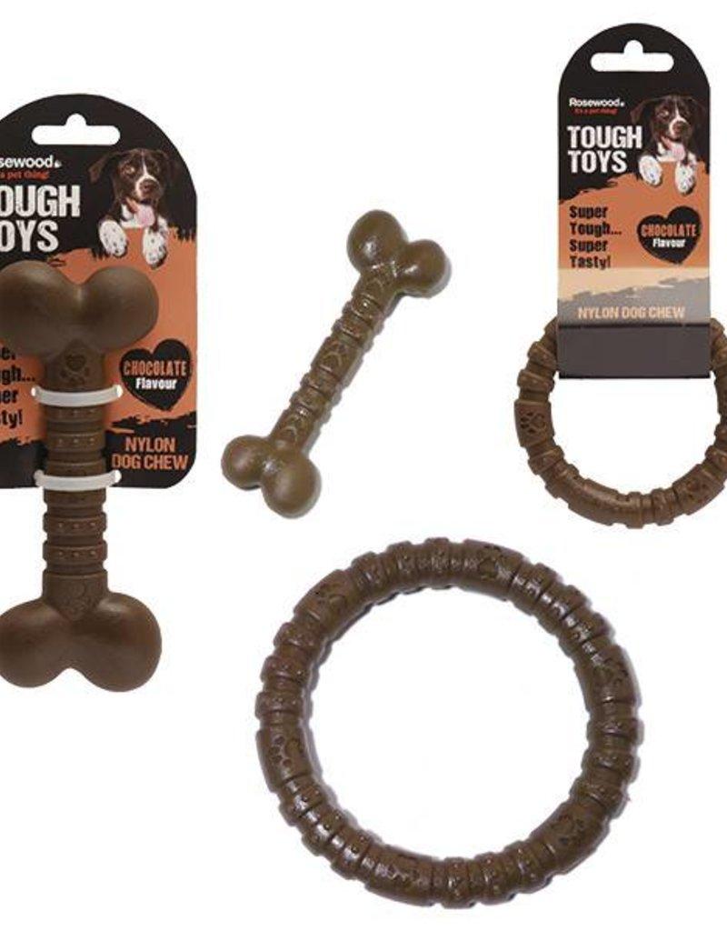 Rosewood Nylon Dog Chew Chocolate Ring