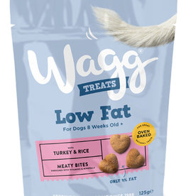 Wagg Dog Treats Low Fat Treats 125g