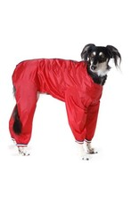 Cosipet Dog Trouser Suit in Red