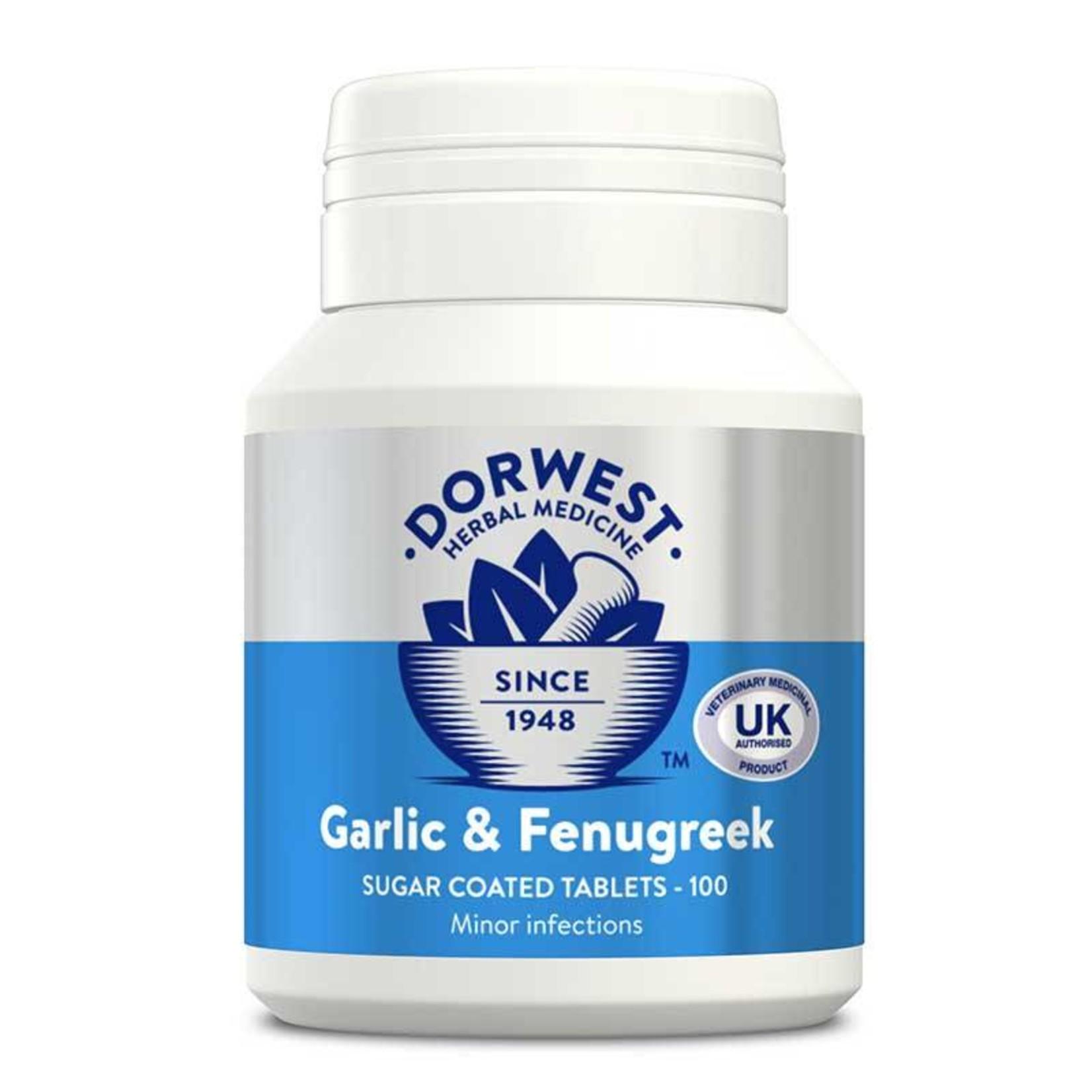 Dorwest Garlic & Fenugreek Tablets