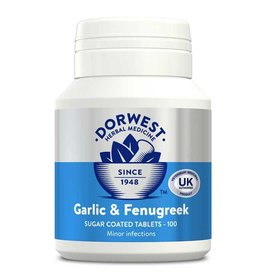 Dorwest Garlic & Fenugreek Tablets