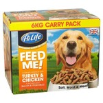 HiLife Complete Feed Me Moist Mince Dog Food in Turkey & Chicken, 6kg