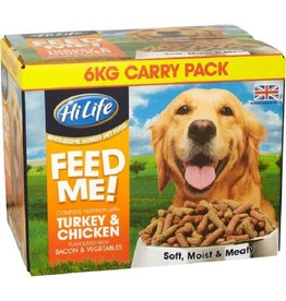HiLife Complete Feed Me Moist Mince Rich In Turkey & Chicken 6kg
