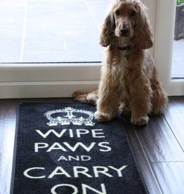 Pet Rebellion Wipe Paws And Carry On Floor Mat, 45x100cm