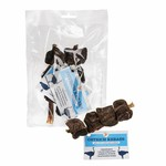 jr pet products Ostrich Kebab Meat Skewered With Dried Tendon Dog Treats 2 pack