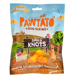 Benevo Pawtato Small Knots Vegan Sweet Potato Dog Chews 150g