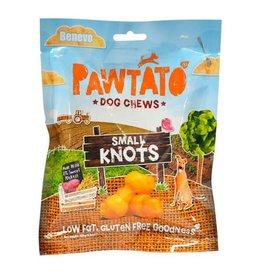 Benevo Pawtato Small Knots Vegan Sweet Potato Dog Chews, 150g