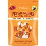 Pet Munchies Chicken & Calcium Bone 100% Natural Dog Treats, 100g