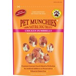 Pet Munchies Chicken Dumbells 100% Natural Dog Treats, 80g