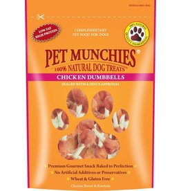 Pet Munchies Chicken Dumbells 100% Natural Dog Treats, 80g