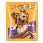 Pet Munchies Gourmet Chicken Stix 100% Natural Dog Treats, 50g