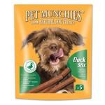Pet Munchies Gourmet Duck Stix 100% Natural Dog Treats, 50g