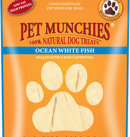 Pet Munchies 100% Natural Dog Treats, Ocean White Fish 100g