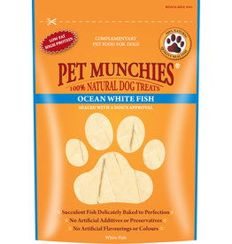Pet Munchies Ocean White Fish 100% Natural Dog Treats, 100g