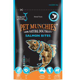Pet Munchies Salmon Bites 100% Natural Dog Treats, 90g