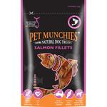 Pet Munchies Salmon Fillets 100% Natural Dog Treats, 90g