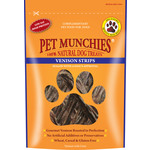 Pet Munchies Venison Strips 100% Natural Dog Treats, 75g