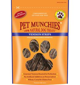 Pet Munchies Venison Strips 100% Natural Dog Treats, 75g