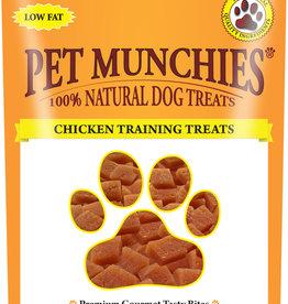 Pet Munchies 100% Natural Training Dog Treats, Chicken 50g
