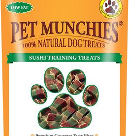 Pet Munchies 100% Natural Training Dog Treats, Sushi 50g