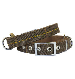 Earthbound Tweed Collar, Brown