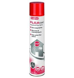 Beaphar FLEAtec Household Flea Spray, 600ml