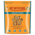 Pet Munchies Chicken Twists Natural Dog Treats, 290g
