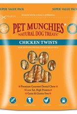 Pet Munchies 100% Natural Dog Treats, Chicken Twists 290g