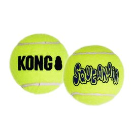 KONG AirDog Squeaker Tennis Ball Dog Toy, Extra Large