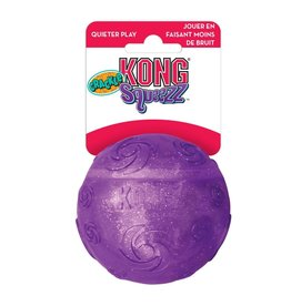 KONG Squeezz Crackle Ball Dog Toy, Large