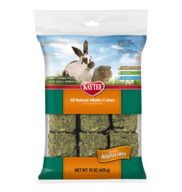 Kaytee Small Animal Alfalfa Cubes 425g