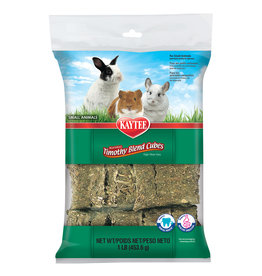 Kaytee Small Animal Timothy Hay Blend Cubes, 454g
