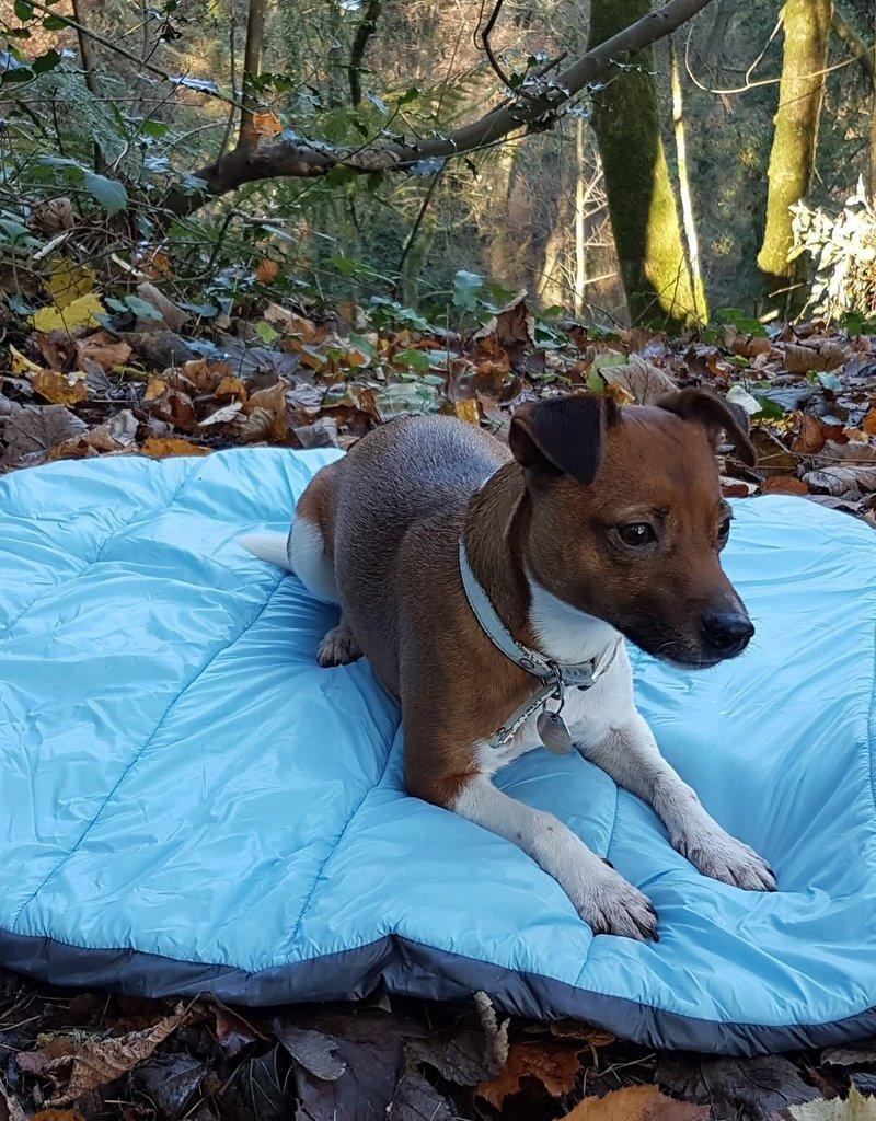 Henry Wag Alpine Travel Snuggle Bed, Blue & Grey