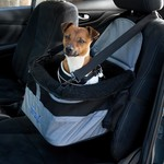 Henry Wag Pet Car Booster Seat, Grey & Black