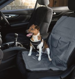 Henry Wag Single Seat Car Cover Protector for Pets, Steel Grey